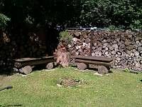 Ohniště - chata ubytování Zadní Třebaň