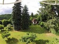 Zahrada 5.000 m2 - pronájem chaty Zadní Třebaň