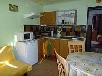kuchyňka v apartmánu  č. 1 pro 4+1 os.