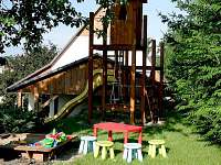 Pískoviště+prolézačka - chalupa ubytování Žamberk