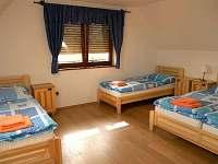 Vrchní ložnice č. 4 - 6 lůžek - Žamberk