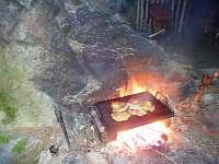 lávový kámen na grilování