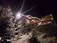 Noční zimní pohled