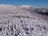 Kralický Sněžník v zimě
