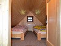 Podkrovní pokoj, výška pouze 150cm - Horní Lipka