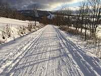 Běžkařské trasy - apartmán k pronajmutí Deštné v Orlických horách