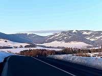 panorama Kralický Sněžník - chalupa k pronájmu Dolní Morava