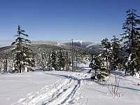 Výhled na Kralický Sněžník - chalupa k pronájmu Dolní Morava