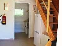 chatka č.1 schodiště - k pronájmu Olešnice v Orlických horách
