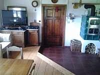 Společenská místnost - pronájem chalupy Říčky v Orlických horách