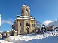 kostel v Čenkovicích -