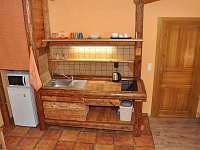 kuchyň ap. 3 - chalupa k pronájmu Čenkovice