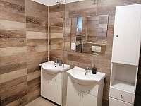 Koupelna A - ubytování Sedloňov