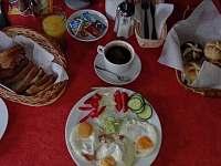 Snídaně - ubytování Sedloňov