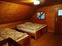 1.ložnice v podkroví (4 lůžka) - pronájem chaty Vamberk - Peklo nad Zdobnicí