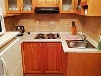 kuchyňka - chata ubytování Vamberk - Peklo nad Zdobnicí