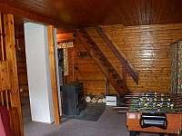 schodiště do podkroví - chata k pronajmutí Vamberk - Peklo nad Zdobnicí