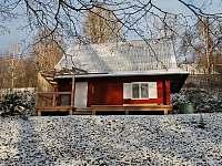 Zima přišla k nám chatička č.2 - k pronájmu Olešnice v Orlických horách