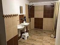 Koupelna1 - pronájem chaty Deštné v Orlických horách