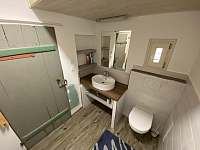 koupelna - chalupa k pronajmutí Kvasiny