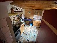 kuchyň - chalupa ubytování Kvasiny