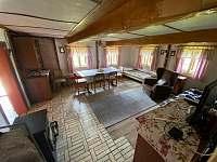 obývací místnost - pronájem chalupy Kvasiny