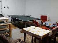 společenská místnost jako herna - chalupa k pronajmutí Heroltice u Štítů