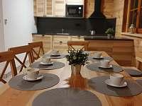 Jídelní stůl - apartmán Lukáš - pronájem Červená Voda - Dolní Orlice