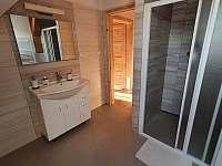 Koupelna - apartmán Lukáš - pronájem Červená Voda - Dolní Orlice