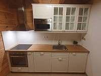 kuchyňská linka - apartmán Adéla - Červená Voda - Dolní Orlice