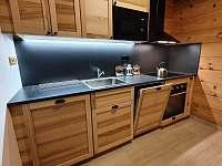 Kuchyňská linka - apartmán Lukáš - ubytování Červená Voda - Dolní Orlice