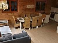 Obývací pokoj - apartmán Adéla - Červená Voda - Dolní Orlice