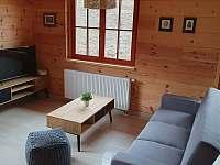 Obývací pokoj - apartmán Lukáš - pronájem Červená Voda - Dolní Orlice