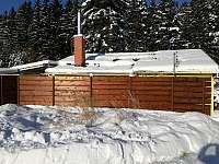 Chata Anička - zimní - k pronajmutí Přívrat