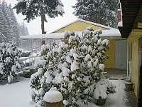 Chata Anička - zimní - k pronájmu Přívrat