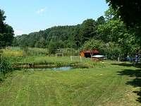 Rybníček a hřiště