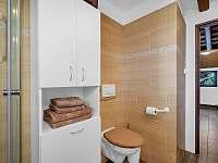 Koupelna - roubenka k pronajmutí Deštné v Orlických horách