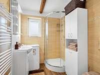 Koupelna - roubenka k pronájmu Deštné v Orlických horách