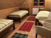 interiér pokojů, chodby - chata k pronájmu Uhřínov pod Deštnou