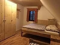 Ložnice 2 - roubenka ubytování Bartošovice v Orlických horách