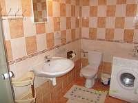 Apartmán v přízemí-koupelna