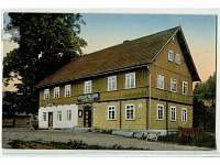 Původní gasthouse Goldene Krone, Sattel.