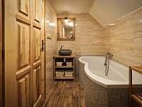 Koupelna - podkroví - Zdobnice v Orlických horách