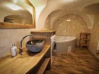 Koupelna - přízemí - chalupa k pronajmutí Zdobnice v Orlických horách
