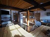 obytná kuchyň - Zdobnice v Orlických horách