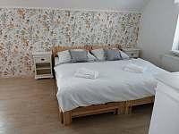 ložnice č.2-patro - pronájem chalupy Verměřovice