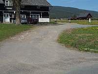 odbočka k chalupě okolo objektu Grennwell (dříve Hurtovna) - Orlické Záhoří