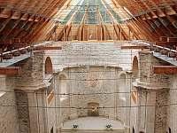 prosklená střecha kostela v Neratově - Orlické Záhoří