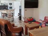 obývací pokoj - pronájem chalupy Prostřední Lipka