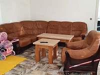 obývací pokoj - chalupa k pronajmutí Prostřední Lipka